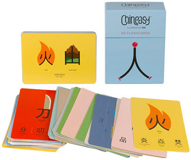 Chineasy™ 60 Flashcards - Oh Happy Fry  - 1