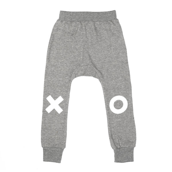 XO Davenport Pants - Grey - Oh Happy Fry  - 1