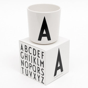 Initial Melamine Cup - Oh Happy Fry - we ship worldwide