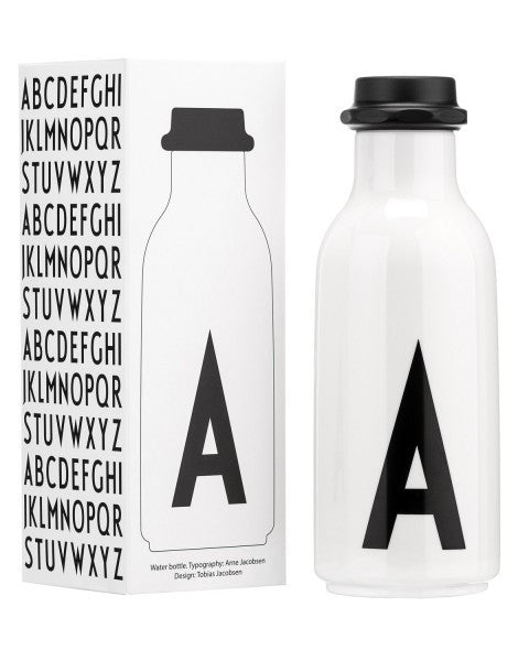 Initial Drinking Bottle - Oh Happy Fry - we ship worldwide