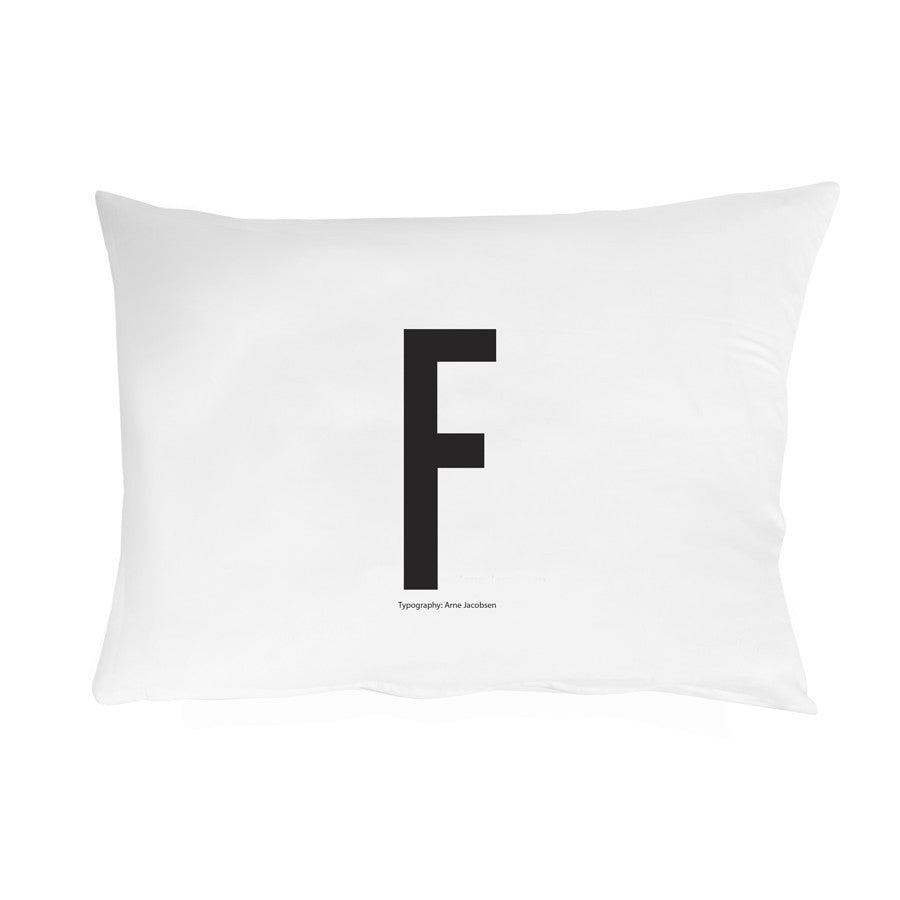 Personal Initial pillowcase 70x50 cm - Oh Happy Fry  - 7