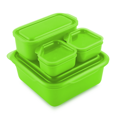 Goodbyn Portions On-The-Go, Green - Oh Happy Fry - we ship worldwide