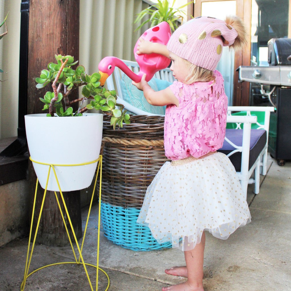 Flamingo Watering Can - Oh Happy Fry  - 2
