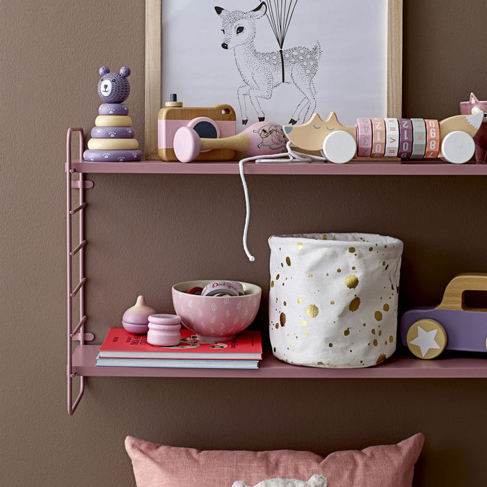 North String Shelf, Rose - Oh Happy Fry - we ship worldwide