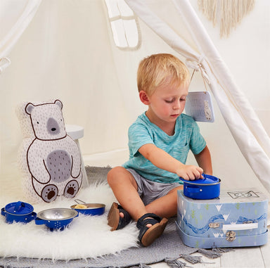 Bear Camp Kitchen Cooking Play Set - Oh Happy Fry - we ship worldwide