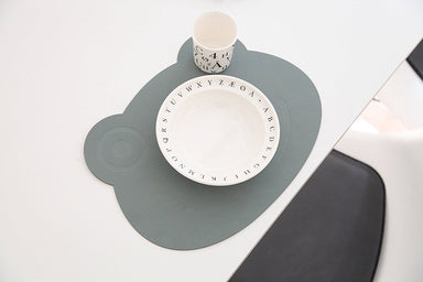 Bear Softbuck Placemat - 4 Colours - Oh Happy Fry - we ship worldwide