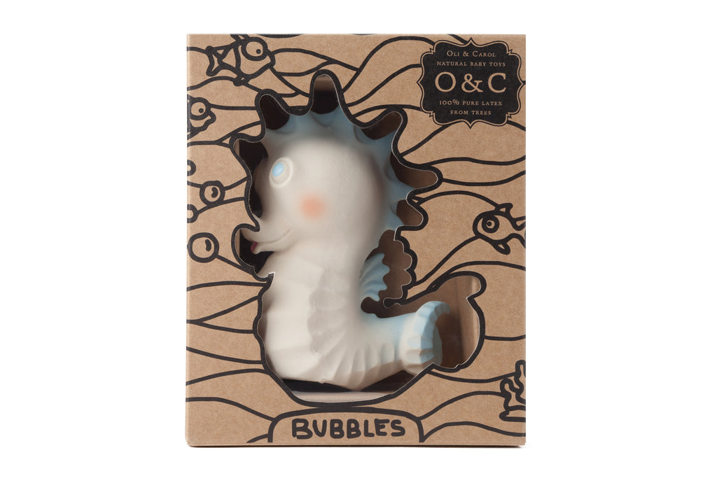 Bubbles The Seahorse - Oh Happy Fry - we ship worldwide