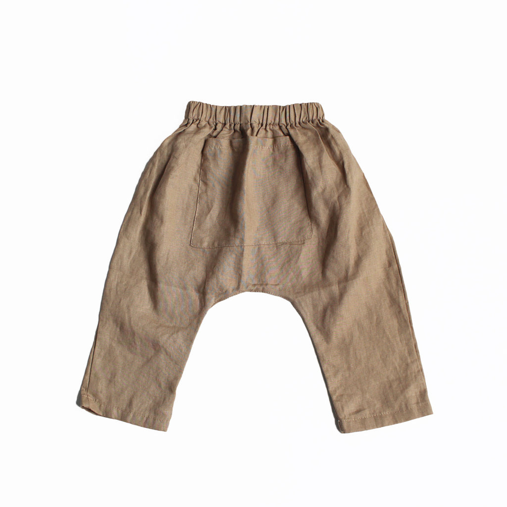 Linen Harem Pants - Oh Happy Fry - we ship worldwide