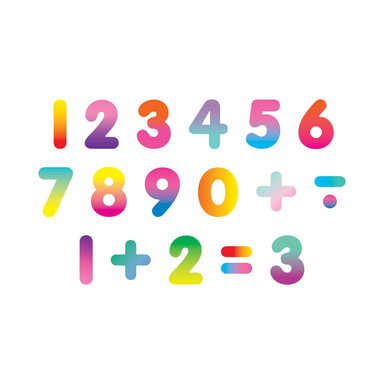 Rainbow 123 Wooden Magnetic Number set - Oh Happy Fry - we ship worldwide