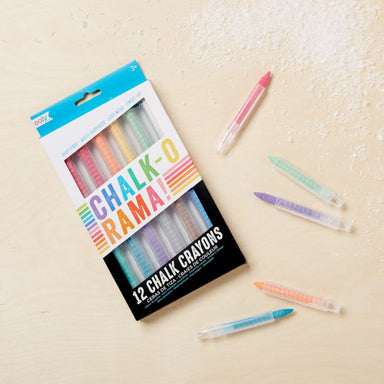 Chalk O Rama Chalk Crayons (Set of 12) - Oh Happy Fry - we ship worldwide