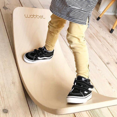 PREORDER Wobbel Board Original Transparent Lacquer (end July delivery) - Oh Happy Fry - we ship worldwide