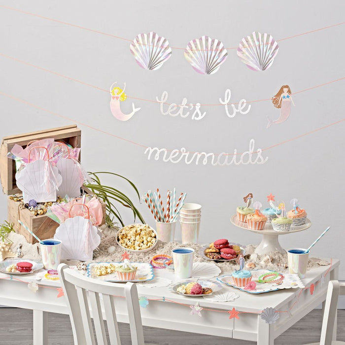 Let's Be Mermaid Cake Toppers - Oh Happy Fry - we ship worldwide
