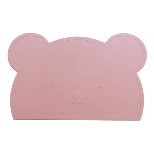 Pink Bear Silicone Placemat - Oh Happy Fry  - 1