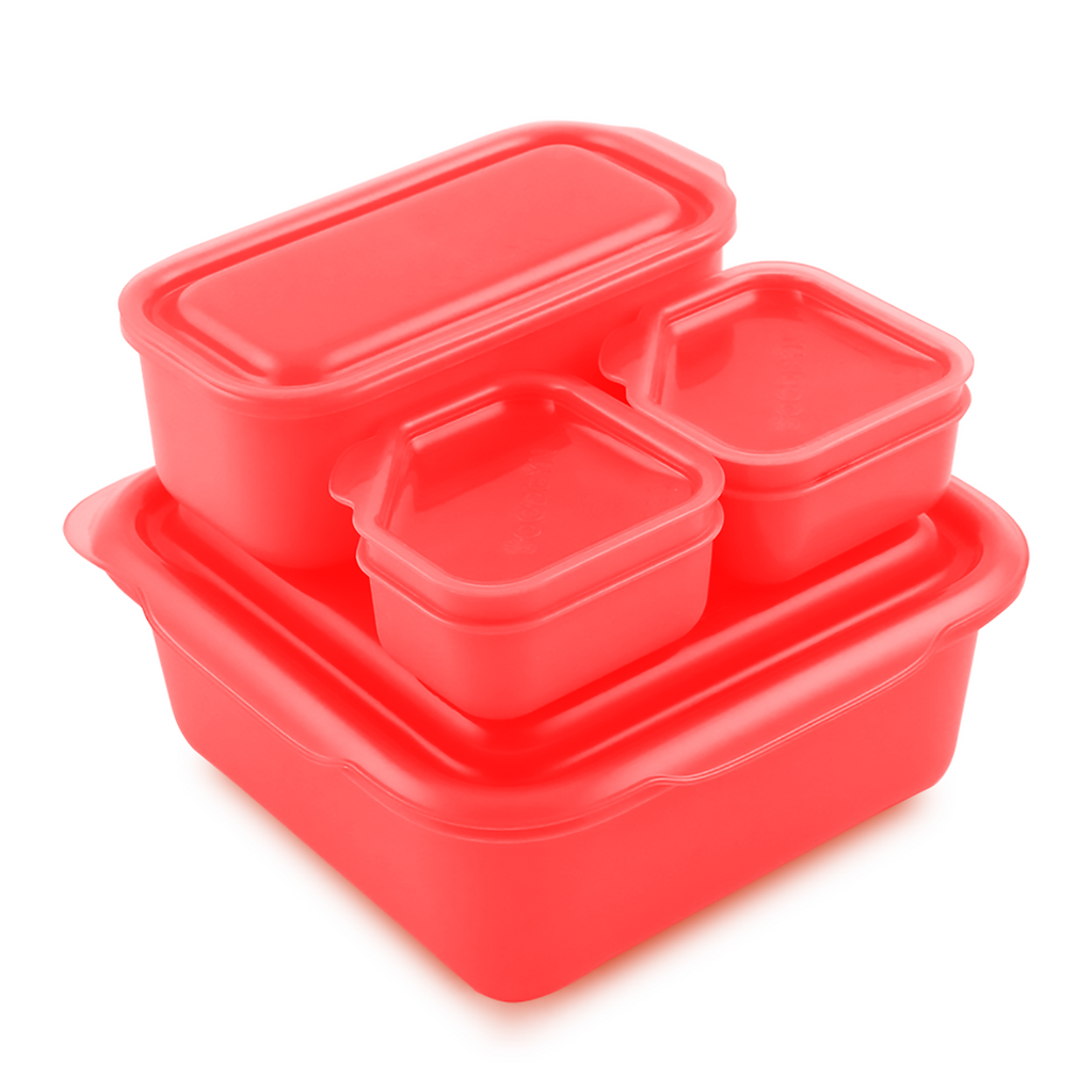Goodbyn Portions On-The-Go, Red