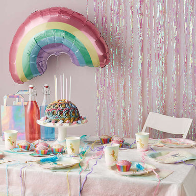 We Heart Unicorn Rainbow Balloon - Oh Happy Fry - we ship worldwide