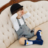 Blue Penguin High Socks - Oh Happy Fry  - 3