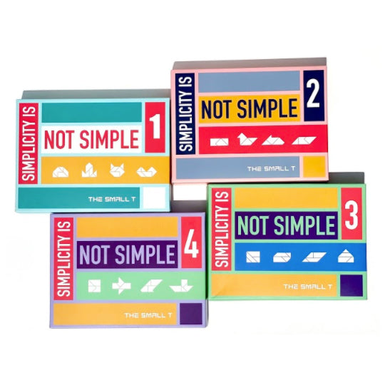 Brain Teaser Puzzle - Combo Set of 4 - Oh Happy Fry - we ship worldwide