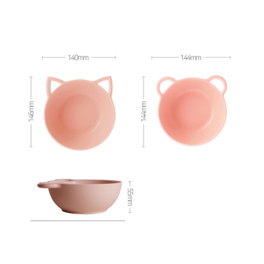 Cat Bowl with Lid - 3 Colours