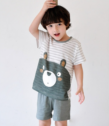 Hello Bear Lounge Wear Set - Oh Happy Fry - we ship worldwide