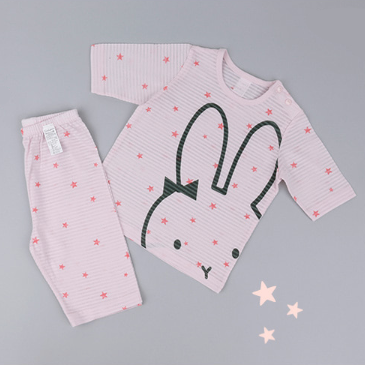 Star Rabbit Lounge Wear Set - Oh Happy Fry - we ship worldwide