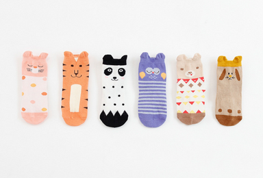 Tiger Socks - Oh Happy Fry - we ship worldwide