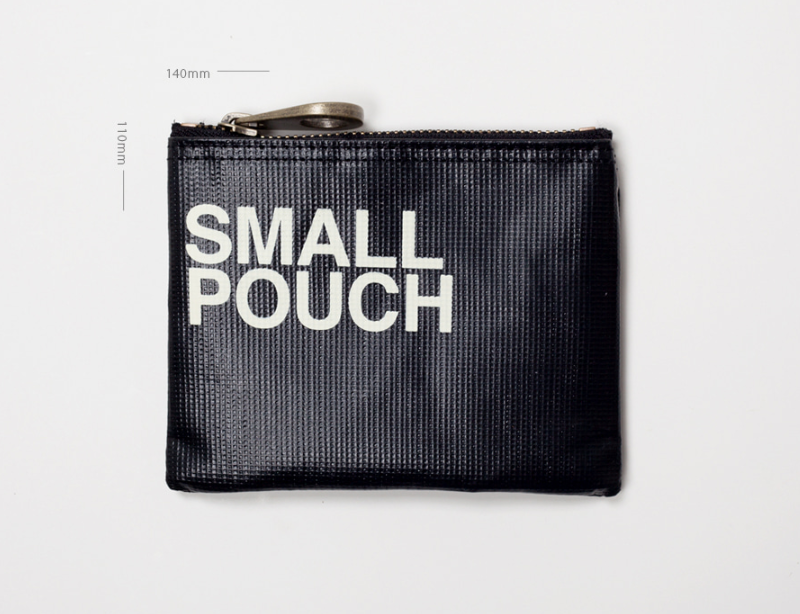 Small Carry Around Top Zip Pouch - Oh Happy Fry - we ship worldwide