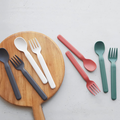 Mono Fork & Spoon Set (2 colours)