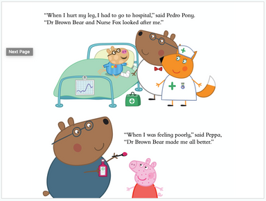 Peppa Pig: Peppa Loves Doctors and Nurses (Paperback)