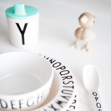 Design Letters Sippy Cup Lid - Oh Happy Fry  - 2