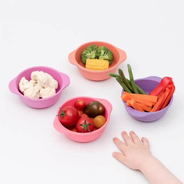 Bamboo Snack Bowl set – Sunset - Oh Happy Fry - we ship worldwide
