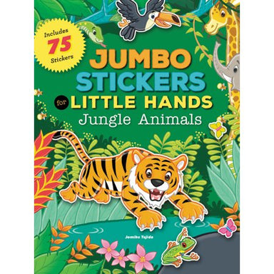 Jumbo Stickers For Little Hands: Jungle Animals (Includes 75 Stickers) - Oh Happy Fry - we ship worldwide