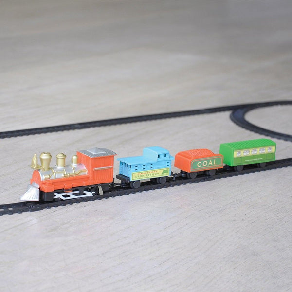 Traditional Miniature Battery Operated Train Set - Oh Happy Fry  - 1