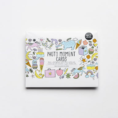 Photo Moment Cards (Swans and Unicorns) - Oh Happy Fry - we ship worldwide