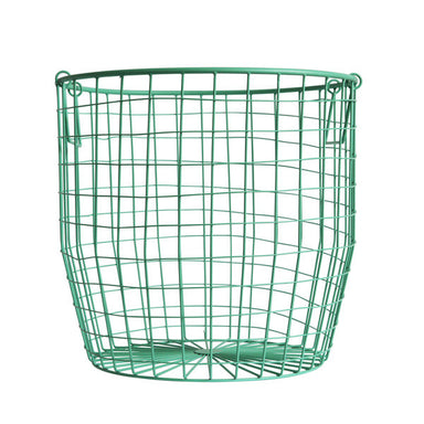 Wire Basket in Mint - Oh Happy Fry  - 2