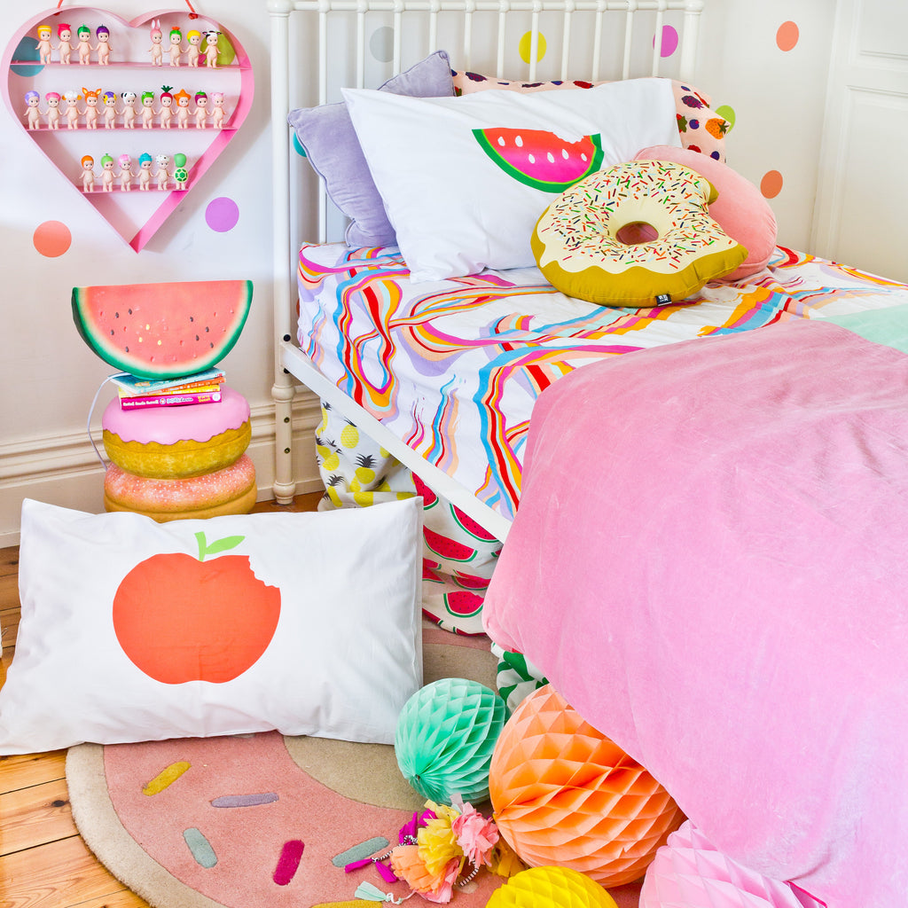 Apple Pillowcase - Oh Happy Fry  - 1