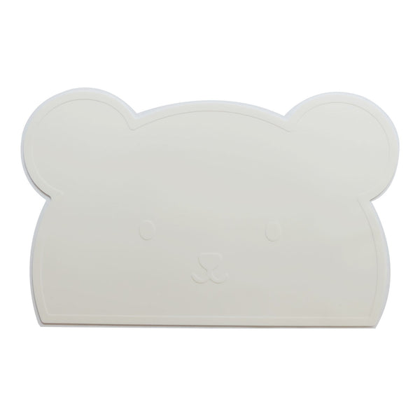 White Bear Silicone Placemat - Oh Happy Fry  - 1