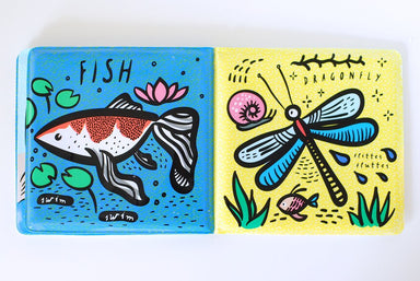 Colour Me Book Bath Book - Oh Happy Fry - we ship worldwide