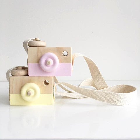 Wooden Toy Camera - Oh Happy Fry  - 2