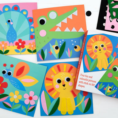 Animal Felt Picture Kit - Oh Happy Fry - we ship worldwide