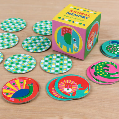 Animal Memory Game (24 pieces) - Oh Happy Fry