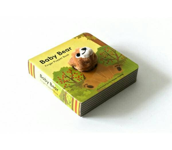 Baby Bear: Finger Puppet Book (Board Book)