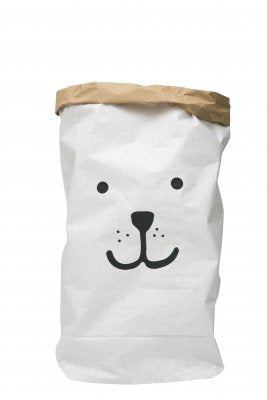 Tellkiddo Bear Paper Storage - Oh Happy Fry - we ship worldwide