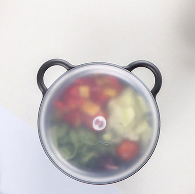 Bear Bowl with Lid - 3 Colours