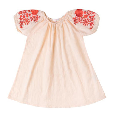 Bianca Dress Pale Pink - Oh Happy Fry