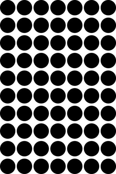 Black Dots Wall Decal - Oh Happy Fry  - 2