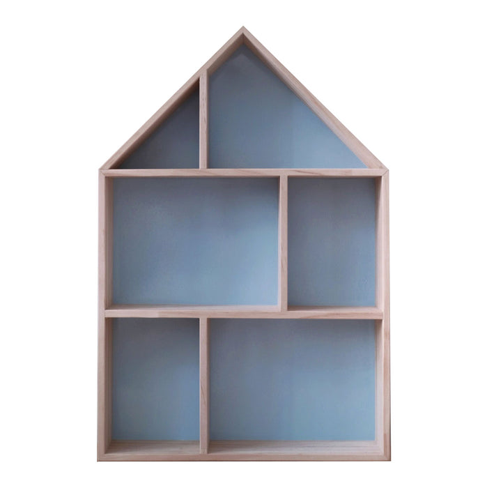 Wooden House Shelf - 4 colours - Oh Happy Fry - we ship worldwide
