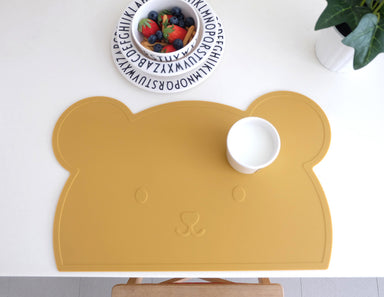 White Bear Silicone Placemat - Oh Happy Fry  - 2