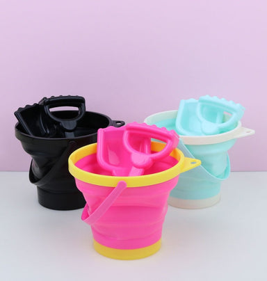 Bucket & Spade Set (3 Colours) - Oh Happy Fry
