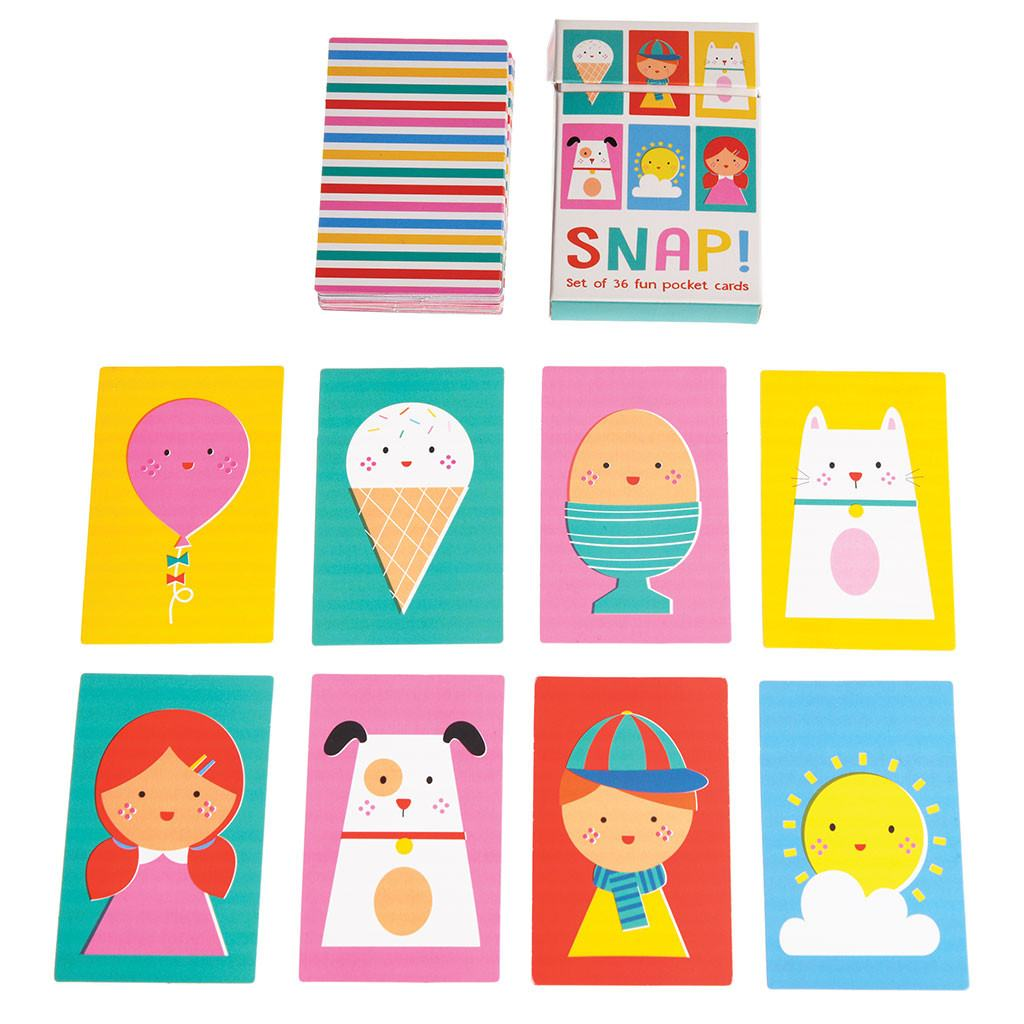 Children's Snap Cards - Oh Happy Fry - we ship worldwide