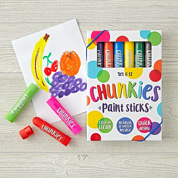 Chunkies Paint Sticks (Classic Set of 12) - Oh Happy Fry - we ship worldwide